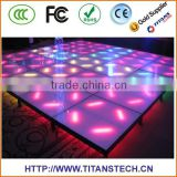 High Definition portable dance floor Outdoor 3D Led Wall Screen