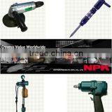 Reliable and High quality cordless impact wrench NPK Pneumatic tools for industrial use , small lot order available