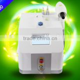 2016 hot q switched nd yag laer1064 &532 nm for tattoo removal, eyebrow pigments & age spots removal