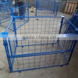 Economic Foldable and Stackable Cage Container