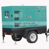 Mobile diesel generator sets