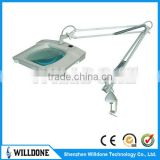 Skin Analyser Square Led Magnifying Lamp Portable Magnifying Lamp Led For Nail Art Medical