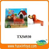 plastic barking dogs toy
