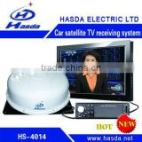 Satellite TV receiver for car,boat,outdoor activity