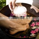 Big Size Copper Hammered pedicure sink bowl With Best Quality