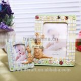 Lovely giraffe kangaroos resin baby boy girl photo picture frame