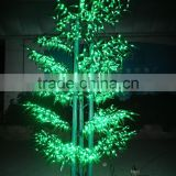 High simulation trunk outdoor/indoor evergreen led garden bamboo tree lights