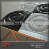 3D wall pvc art panel by vacuum forming