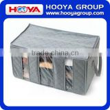 65L Bamboo charcoal storage box with dividers