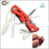 New design power tool pocker swiss knife with led pocket tool