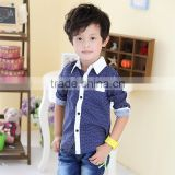 New style fashion baby boy shirt Polka Dot boy's shirt t-shirt