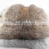 Super deluxe large straw yellow multicolor rabbit skin wholesale manufacturers selling fur of rabbit skin can be customized