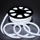 Polychrome CE approved Wire Rope Cable Strip water resistant led neon 5050 RGB DMX led ultra thin neon