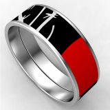 Personalize Enamelled Stainless Steel Bracelets For Party