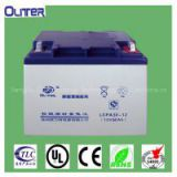 Fixed-valve control type sealed lead acid battery