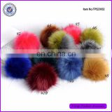 Wholesale Cheap Stock 5-12cm Fluffy Fake Fur Pom Poms