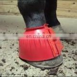Rubber Bell Boots fixed with velcro