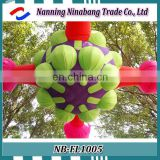 advertising led outdoor inflatable flower inflatable balloons for sale