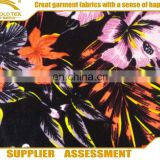 Wholesale Top Polyester Spandex Stretch printed Velour Fabric For Dress Garment Material