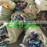 Unsort original used shoes material