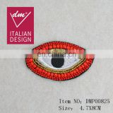 Fantastic style patch beaded eye applique