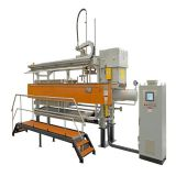 NEW 800mmx800mm fully automatic filter press with cloth washing system