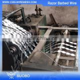 Factory Export Anti Climb Wall Razor Spike Razor Wire Installation 450Mm Coil Diameter Concertina Razor Barbed Wire