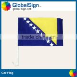 Cutom car flags from coming christmas