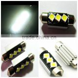 36mm 3smd Car led Light ,2W Led License Plate Light
