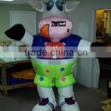 2016 adult size inflatable custom mascot costumes