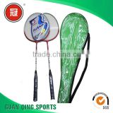 Customized Logo top brands of badminton rackets