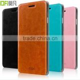 MOFi Flip Leather Case Cover for Sony Xperia Z4 Z3 Plus E6553 Verizon, Cell Phone Case for Sony Xperia Z3+ Dual