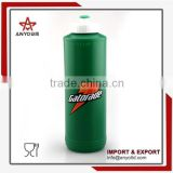 Made of food grade PP and PE easy squeeze plastic sports water bottle
