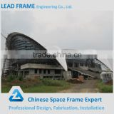 Customized aesthetic space frame sport hall with steel structure