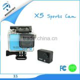 "New High definition 2.0""TFT 960*240 Screen Waterproof Wifi Sports Camera Supporting Slow Motion and HDMI Output Functions"