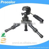 Professional Video Camera Table Mini Tripod with 3-Way Pan head Flexible Tripod For Digital Camera