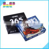 China cheap wholesale custom table calendar printing
