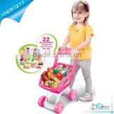 Interesting Supermarket Children Shopping Cart Shopping Trolley Toy Child Supermarket Cart