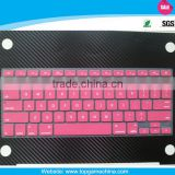 "2014 New type custom silicone keyboard protector cover For Macbook air 13"" 15"""