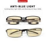 Professional factory Anti Blue Light And UV Rays Computer Glasses For Officers And Gamers