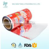 high quality customized PET/VMPET/PE food plastic packing film for popcorn                                                                         Quality Choice