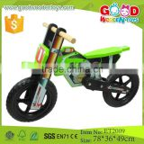 Top quality green color wooden racing bike, good price smart bike for children                                                                         Quality Choice