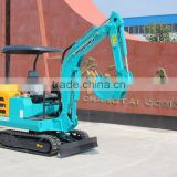 2.2 ton Mini hydraulic excavator , rubber track used/mini crawler excavator/ New Condition and Crawler Excavator Moving Type