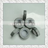 carbon steel zinc plating self-locking thin nut
