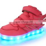 NEW Kids LED Light Sneakers Luminous Casual Flashing Usb Rechargeable Led Shoes