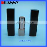 CHANNEL STYLE UV BLACK EMPTY SQUARE LIPSTICK TUBE FOR LIP CARE