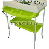 plastic baby bathtub and changing table & baby product
