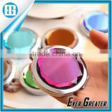 Round shape of mirror beautiful make up mirror you can shave your mustache