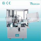 Stainless steel tube filler and sealer,soft tube filling and sealing machine,toothpaste tube filler and sealer