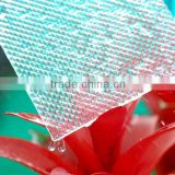 ISO certificated waterproof transparent plastic polycarbonate prismatic sheet decorative 3d bathroom wall panels for sale